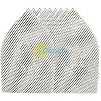 80 GRIT HOOK & LOOP MESH TRIANGLE SHEETS 175 X 105MM 10PK