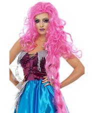 Pink Rapunzel Storybook Fairytale Halloween Wig