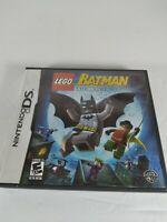 Lego Batman: The Videogame Nintendo DS NDS Tested Working