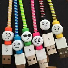 20Pcs Cartoon Protector Saver Cover For iPhone Charger USB Cord Cable . S4Z5