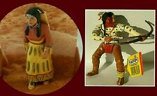 Schleich Wild West Indian Figure Lot Chief Squaw Papoose Archer Buffalo Hunter