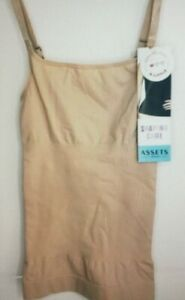Assets Spanx Shaping Cami Size Medium Stretch Seamless 10024R Nude Beige E11