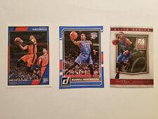 Russell Westbrook (3) Card Lot NBA Hoops Donruss Elite