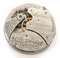 1901 WALTHAM SEASIDE 6S 15J ? POCKET MOVEMENT & DIAL.