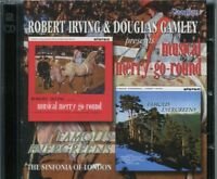 ROBERT IRVING & DOUGLAS GAMLEY - MUSICAL MERRY- GO-ROUND & FAMOUS EVERGREENS  CD