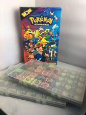 Pokemon Advanced Waps Storage Folders / Case With 24 Waps - Panini