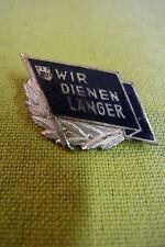 DDR Abzeichen - FDJ - Wir dienen länger - emailliert - 1961 Rarität