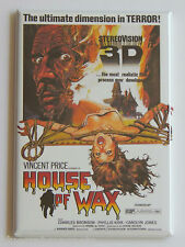 House of Wax FRIDGE MAGNET (2 x 3 inches) movie poster Vincent Price