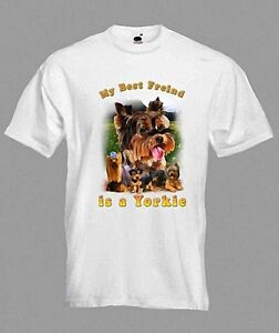 Dog Yorkie Yorkshire Terrier  T-Shirt in any size