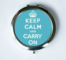 Keep Calm and Carry On crown Compact Mirror Pocket Mirror