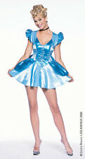 Vendita BLU Principessa Cenerentola LEG Avenue Costume UK 14-16 Space Cadet Girl