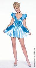 SALE! BLUE PRINCESS CINDERELLA LEG AVENUE COSTUME UK 14-16 L SPACE CADET GIRL