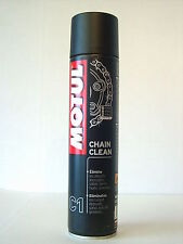 MOTUL Chain clean  Motorrad Quad Kettenreiniger Spray 400ml (€22,25/Liter)