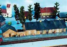 ESCALA H0 Kit Construcción rural Estación 157 NEU