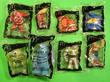 2005 McDonalds - Pixar Pals - set of 8 *Mip*