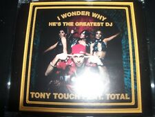 Tony Touch Feat Total I wonder Why He's The Greatest DJ Au 6 Track Remixes CD Si