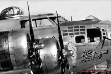 8x10 Print Military Aircraft WW II  B17 Flying Fortress #577