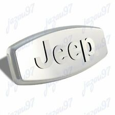"""Bully For JEEP 3D LOGO Stainless Steel Hitch Cover 2""""/1.25"""" Trailer Tow Receiver"""