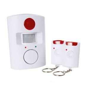 Bewegungsmelder mit Alarmfunktion Infrarot Inkl. Fernbedienung Batterie