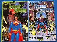 SUPERMAN: THE KANSAS SIGHTING set of (2) #1 & #2 (2003) DC Comics SqB FINE