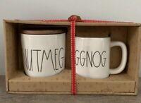 Rae Dunn Nutmeg Cellar& Eggnog Mug *FREE SHIPPING*