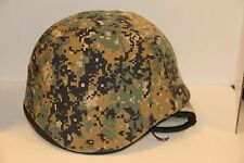 RESIN MILITARY HELMET CAMOUFLAGE COVER LOOKS REAL PAINTBALL COSTUME AIRSOFT