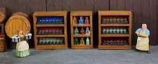 3 Wine Cases with Resin Bottles - 3 Shelves - Works with Dwarven Forge & DnD D&D