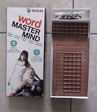 Vintage Invicta Word Master Mind Game Not been Used