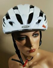BELL ADULT UNISEX EVENTXC BIKE PROTECTIVE CYCLING HELMET WHITE RED LARGE NEW $70