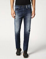 $228 Diesel Men's Buster 084GF Regular Slim Tapered Jeans Soft Denim Size 28X32