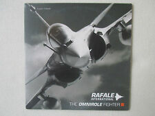 CD ROM DASSAULT AVIATION SNECMA THALES RAFALE INTERNATIONAL THE OMNIROLE FIGHTER