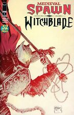 MEDIEVAL SPAWN / WITCHBLADE (Vol 2) #1 NM Todd McFarlane VARIANT cover – 2018