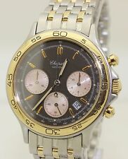 Stainless Steel and 18K Gold Chopard Quartz Chronograph - 8144 - 35mm