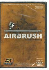 AK Interactive Airbrush Essential Training DVD, NTSC 16.9 ST