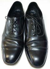 Florsheim Men Shoes Size 11.5 Black Leather Oxfords