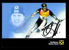 Mario Scheiber Autogrammkarte Original Signiert Ski Alpine + A 162507