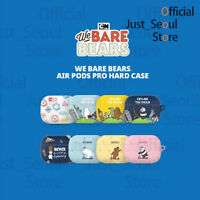 Official We Bare Bears Airpods Pro Hard Case Cover Traveling Theme+Free Tracking