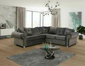 Ashwin corner Grey luxury Sofa