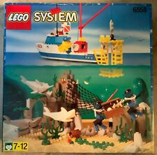 Lego Town Divers 6558 Shark Cage Cove (187 pcs) New SEALED 1997 VGC
