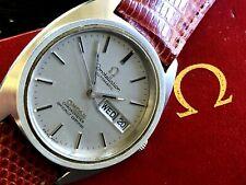 1972 Omega Constellation Automatic Chronometer Steel Original Dial Cal 1021 RUNS