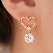 Love Zircon Hypoallergenic Earrings Bow Knot Earrings Cute Girl Gifts Jewelry