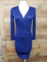 "BCBG MAXAZRIA ""Dalton"" Blue Depth Dress Women's Size: XS NWT"