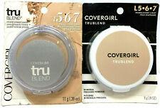 (2) Covergirl Tru Blend Mineral Pressed Powder L567 - Translucent Light
