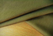 PURE WOOL IRIDESCENT BEIGE/GREY PLAIN WEAVE LUXURY TAILORING MADE IN ITALY E181