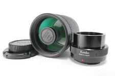 kenko 400mm f/8 N II Mirror Lens Telephoto MF for M4/3 Micro Four Sony E