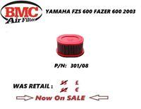 Yamaha FZ 600 S  FAZER 600 03 2003 air filter BMC performance