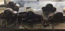 Vintage Working Rauland Borg Amplicall Intercom System w Speaker Bakelite