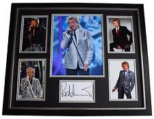 Rod Stewart SIGNED Framed Photo Autograph Huge display Music AFTAL & COA