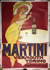 1950 Original Martini Litho Affiche par Marcelo Dudovich