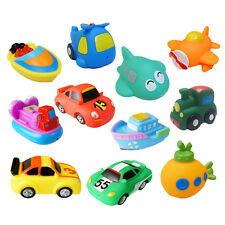 Funny Children Soft Plastic Cute Transport Model Play In The Water Kids Bath Toy